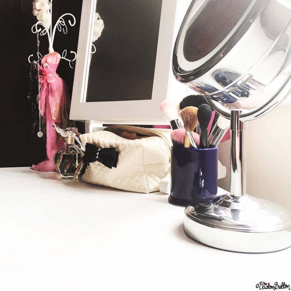 Day 09 - Everyday - Dressing Table and Mirror - Photo-a-Day – March 2016 at www.elistonbutton.com - Eliston Button - That Crafty Kid – Art, Design, Craft & Adventure.
