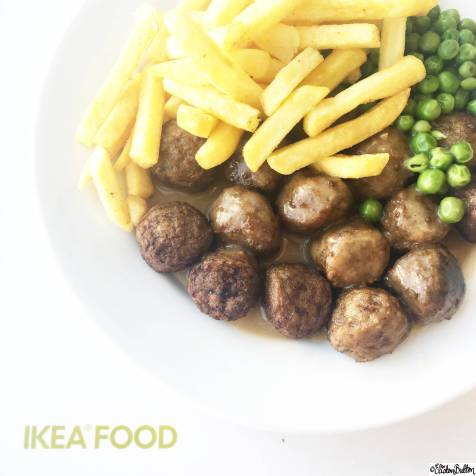 Day 15 - Lunch - IKEA Meatballs, Chips and Peas - Photo-a-Day – May 2016 at www.elistonbutton.com - Eliston Button - That Crafty Kid – Art, Design, Craft & Adventure.