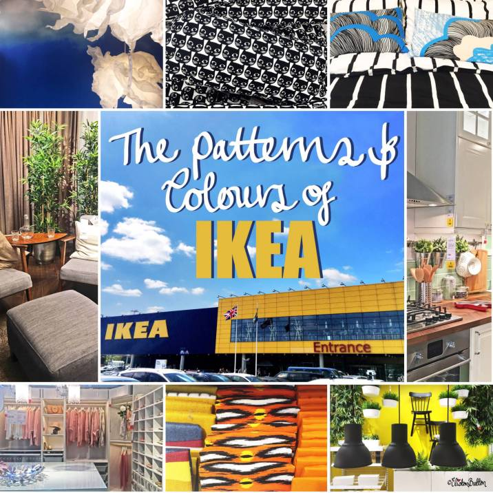 The Patterns and Colours of IKEA by Eliston Button - Around Here…August 2016 at www.elistonbutton.com - Eliston Button - That Crafty Kid – Art, Design, Craft & Adventure.