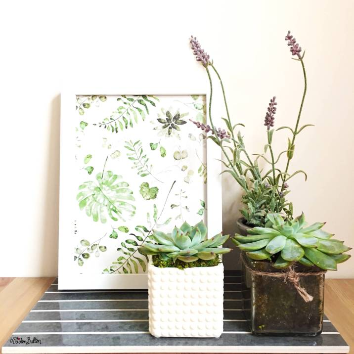 Day 25 - Together - Succulents and Plant Print - Photo-a-Day – October 2016 at www.elistonbutton.com - Eliston Button - That Crafty Kid – Art, Design, Craft & Adventure.