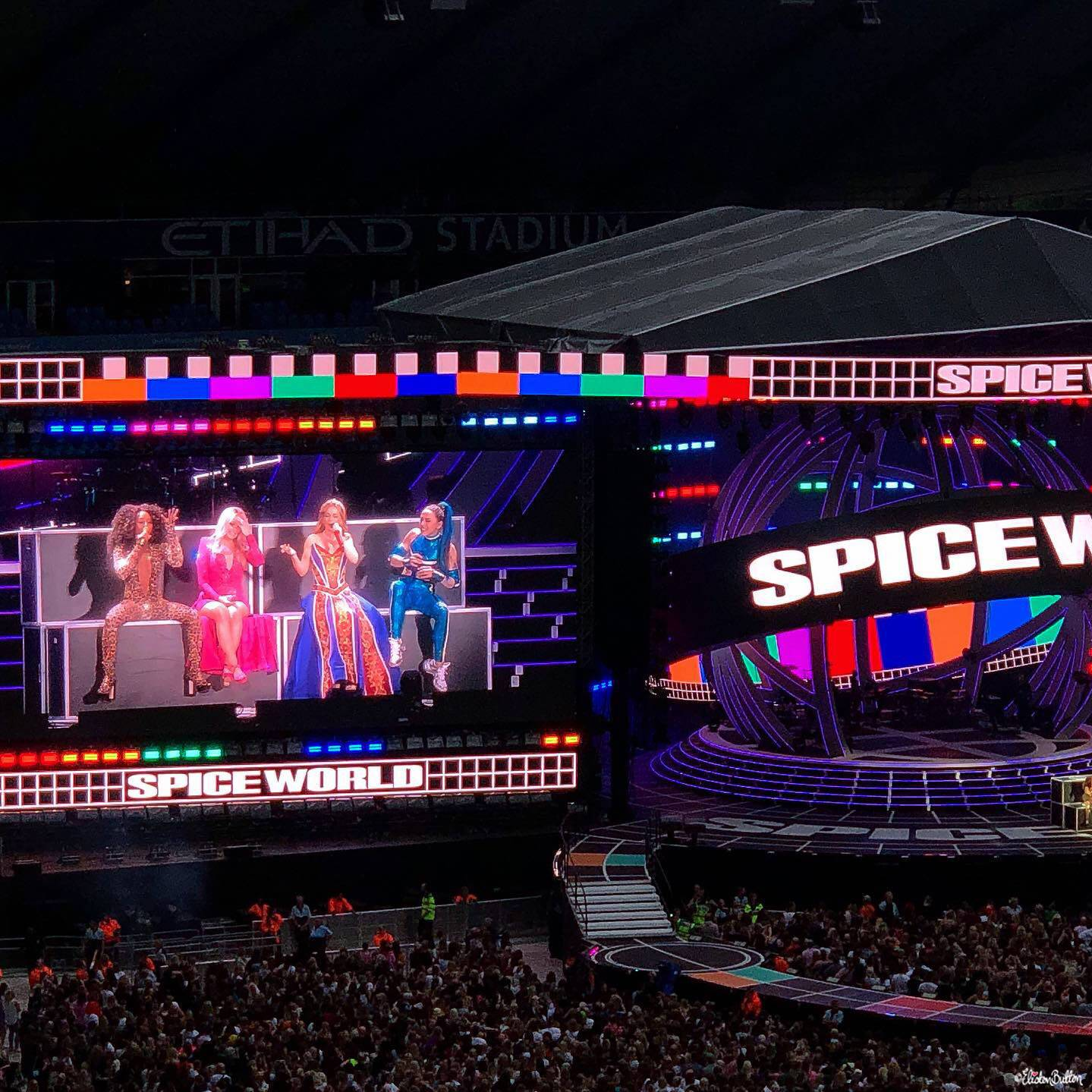 Spice Girls - Manchester Etihad Stadium 2019 - Moments of Magic at www.elistonbutton.com - Eliston Button - A Treasure Trove of Creativity, Colour and Adventure.