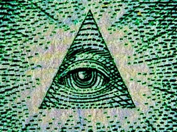 From the eye to the pyramid, our U.S money is riddled with Illuminati images.