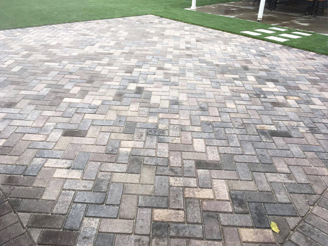 Interlocking Stone Paver Design  Concrete Installation