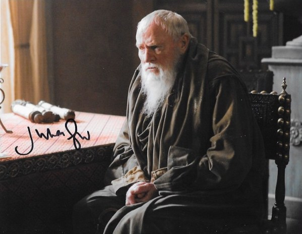 Julian Glover Signed Grand Maester Pycelle 10x8