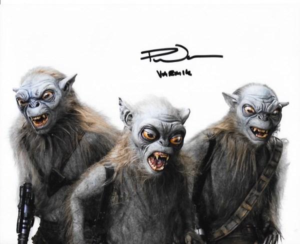 Paul Warren Signed Varmik Signed 10x8