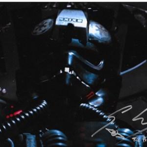 Gary Kiely Signed Rogue One Tie Pilot 10x8