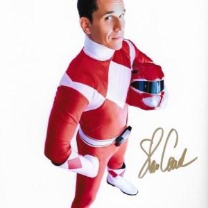 Steve Cardenas Rocky Red Power Ranger 10x8