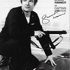 Shane Rimmer Signed Captain Carter 10x8