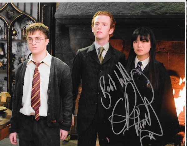 Chris Rankin Signed Percy Weasley 10x8