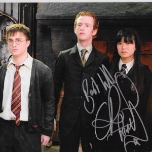Chris Rankin Signed Percy Weasley 10x8
