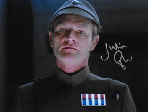 Julian Glover Signed General Veers 10x8.
