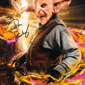 Dan Starkey Signed Randall Moon Wizards & Aliens 10x8