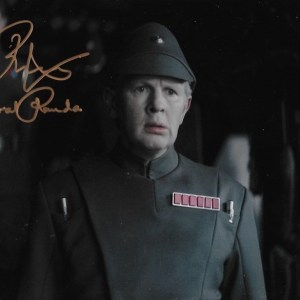 Richard Cunningham Signed General Ramda 10x8