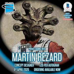 Martin Rezard Private Signing