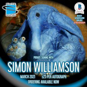 Simon Williamson Private Signing
