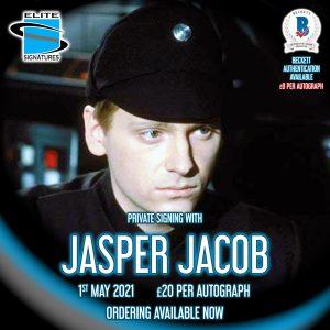 Jasper Jacob Private Signing
