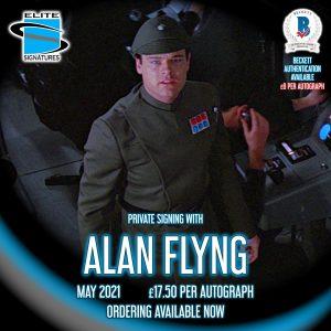 Alan Flyng Private Signing