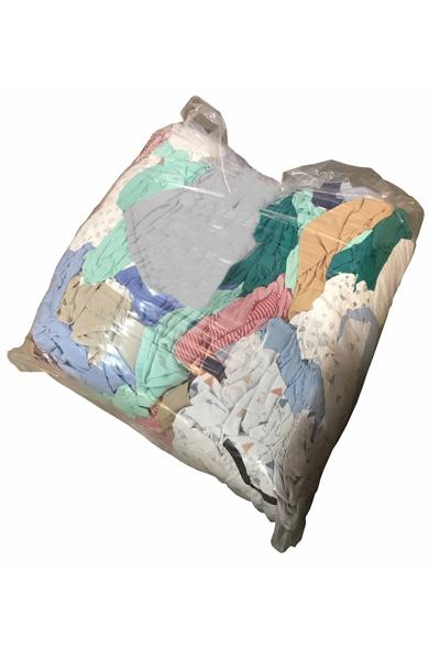 coloured rag bag