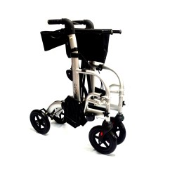 Transport Walker Chair Tommy Bahama Event Hybrid 2 In 1 Rollator Wheelchair Elite Care