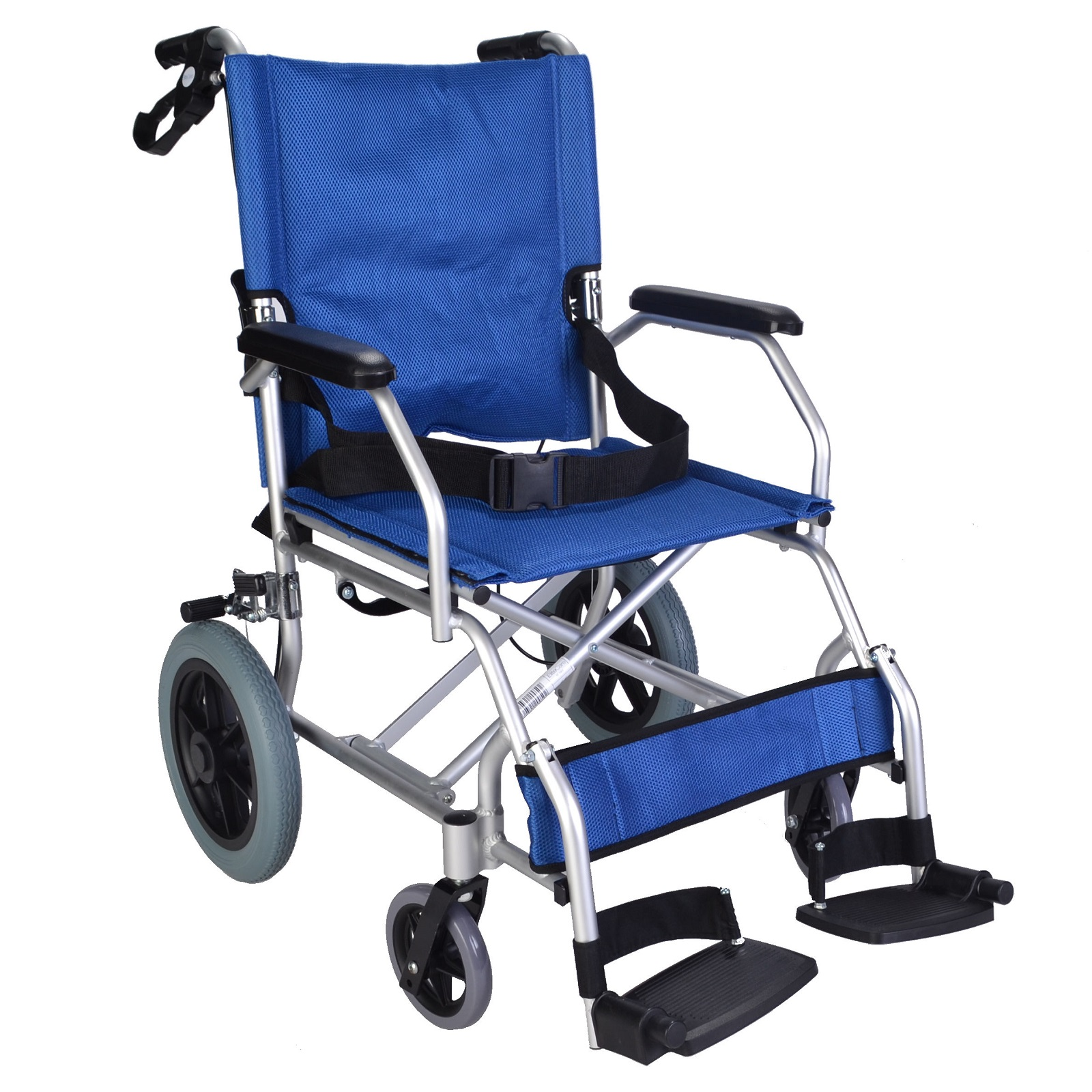 wheelchair foldable rattan restaurant chairs lightweight folding compact ec1863 elite care