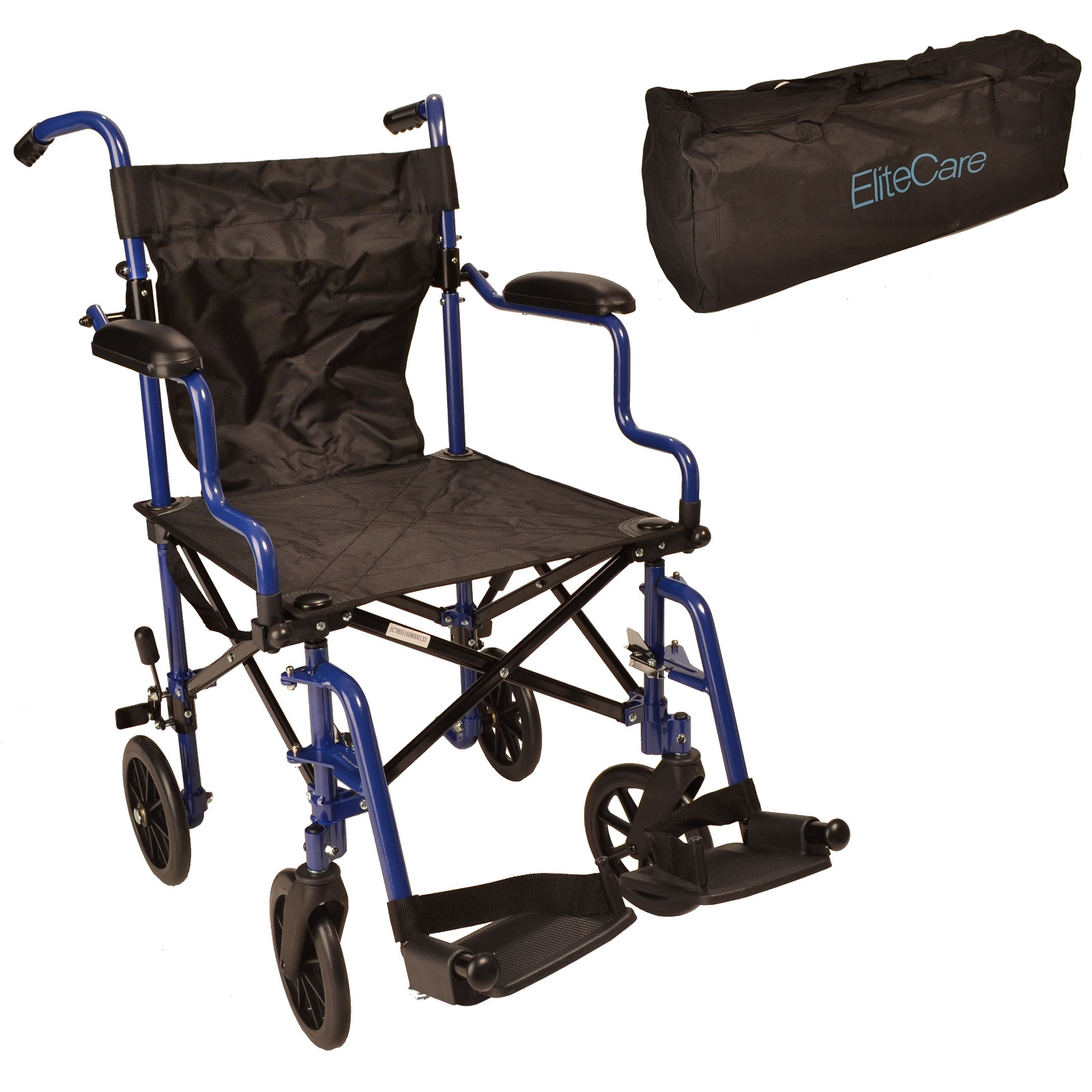 lightweight folding chair in a bag blue rhino covers wheelchair and ectr05 elite