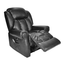 Electric Reclining Chair Stool Ikea Hainworth Recliner With Heat And Massage