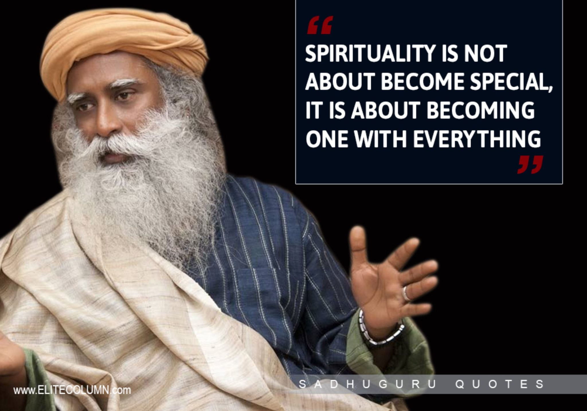 12 Best Life Quotes From Sadhguru Jaggi Vasudev  EliteColumn