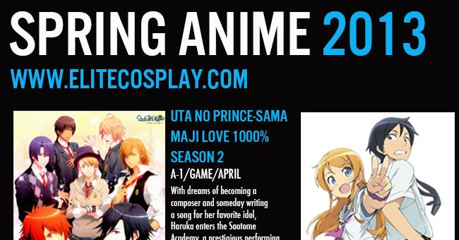 Spring 2013 Anime