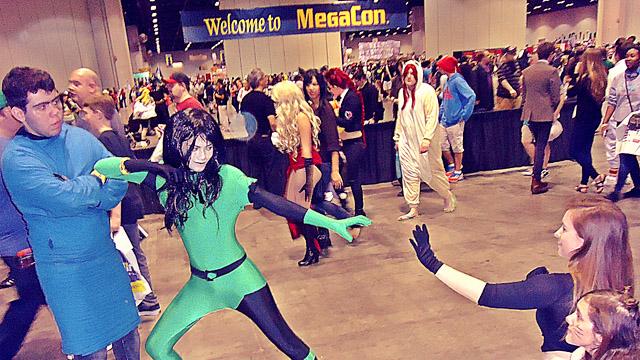 MegaCon 2014