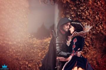 Vampire Snow White Cosplay