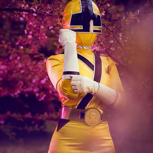 Yellow Ranger Cosplay