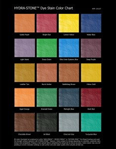 Hydra stone dye stain color chart also elite crete systems colour charts rh elitecreteaustralia