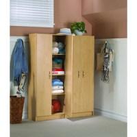 Storage Cabinets: HOME 60 inch Birch Storage Cabinet ...