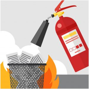How to Detect and Extinguish a Class A Fire (Paper / Wood) | Elite Fire