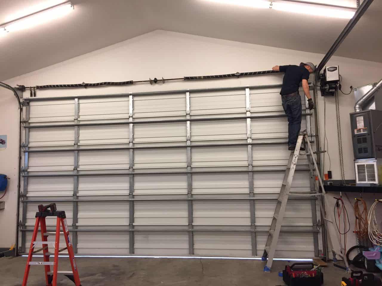 Commercial Garage Door Repair In Sumner WA By Elite Tech