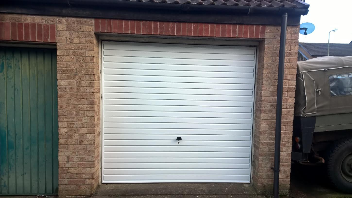 Garage door fitted from only 475