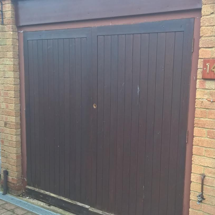 Cardale Steel Side Hinged Garage Door Installation Wantage