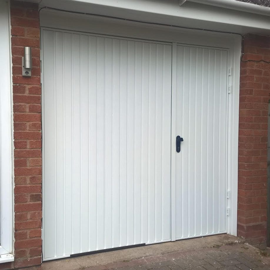 7030 Split Side Hinged Garage Door  Elite GD
