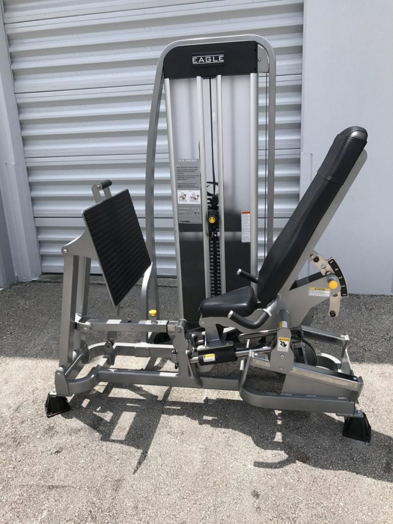cybex eagle leg press manual