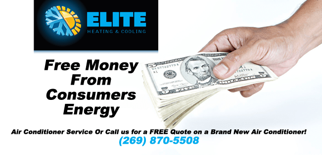 Did you know there are rebates available from $10-$900 from Consumers Energy?