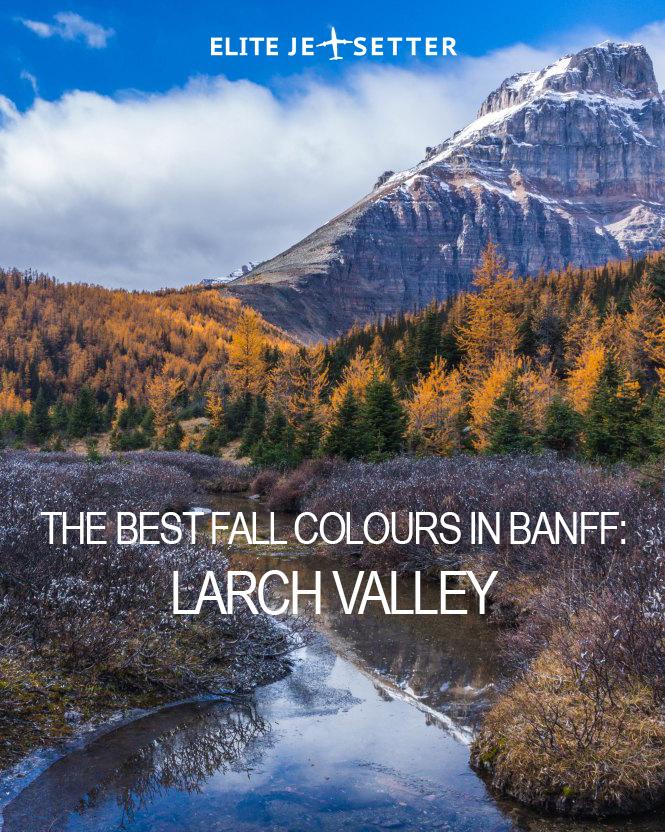 Larch Valley Hike Banff