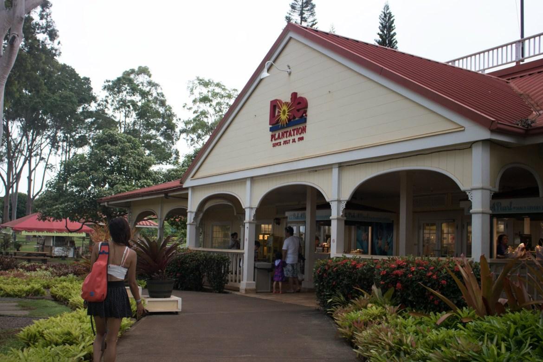 Oahu Dole Plantation