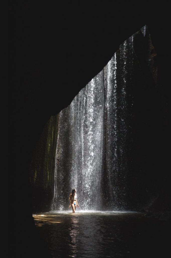 Tukad Cepung Waterfall Bali ubud