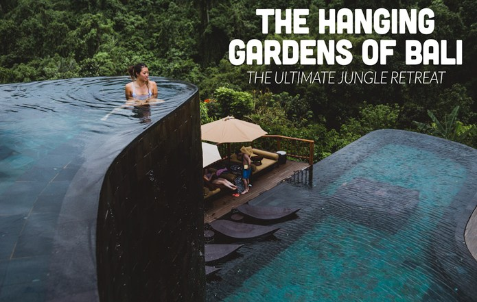HANGING GARDENS OF BALI JUNGLE HOTEL