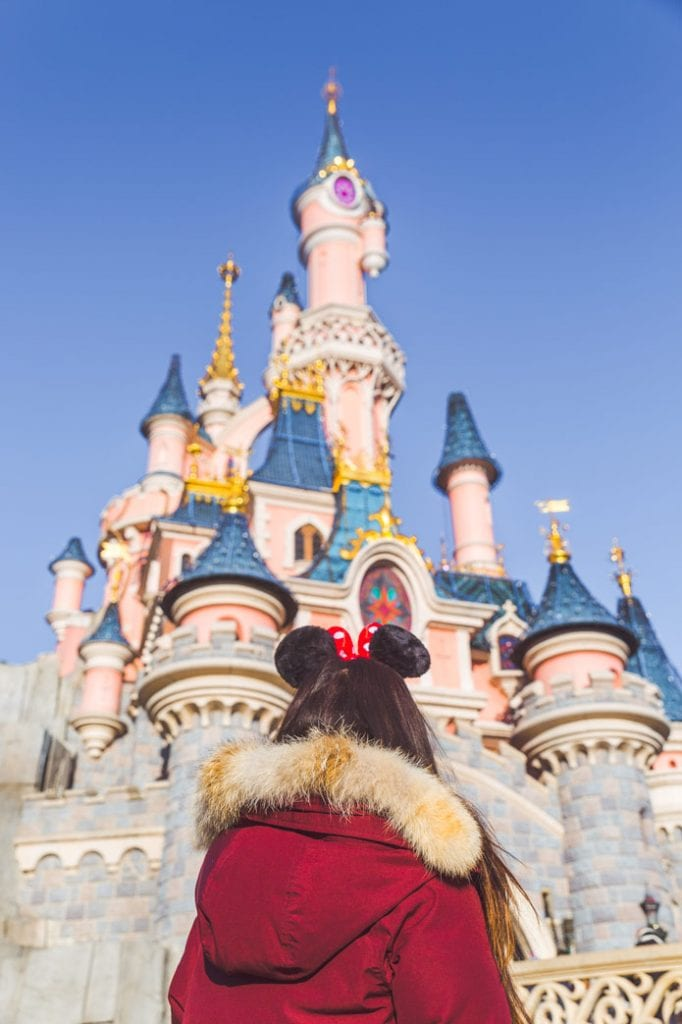 Disney Paris Castle