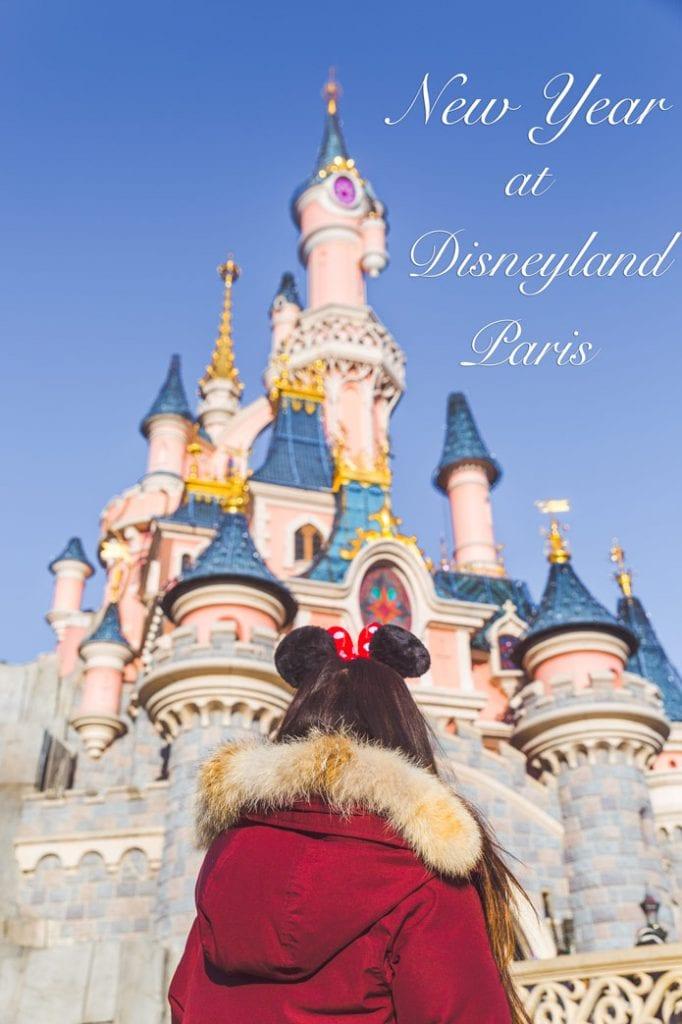 Paris Disney New year