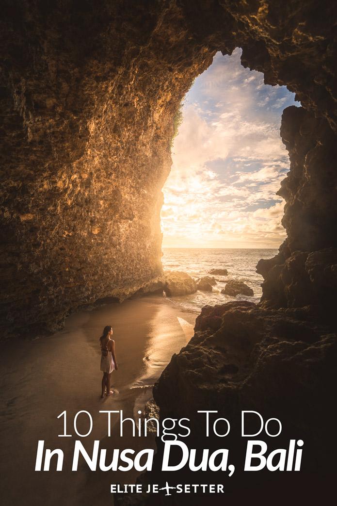 10 things to do in Nusa Dua Bali