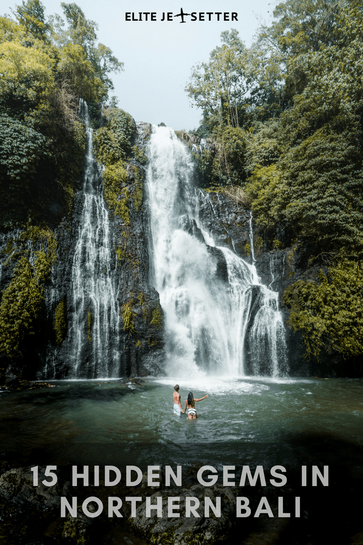 15 hidden gems in north bali