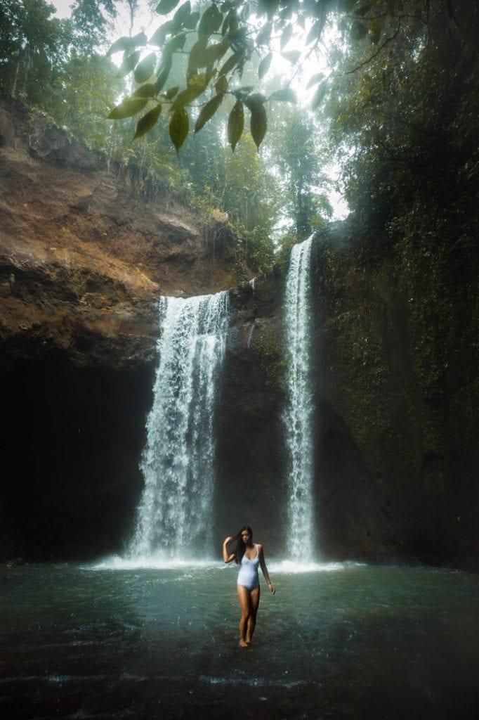 Tibumana waterfall Ubud