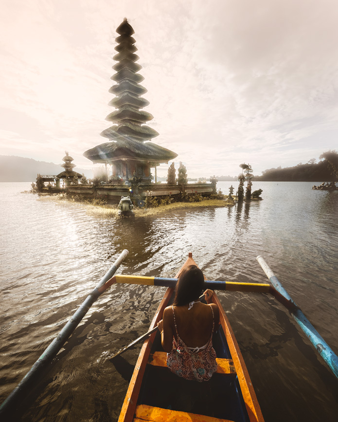 Ulan Danu water temple north bali